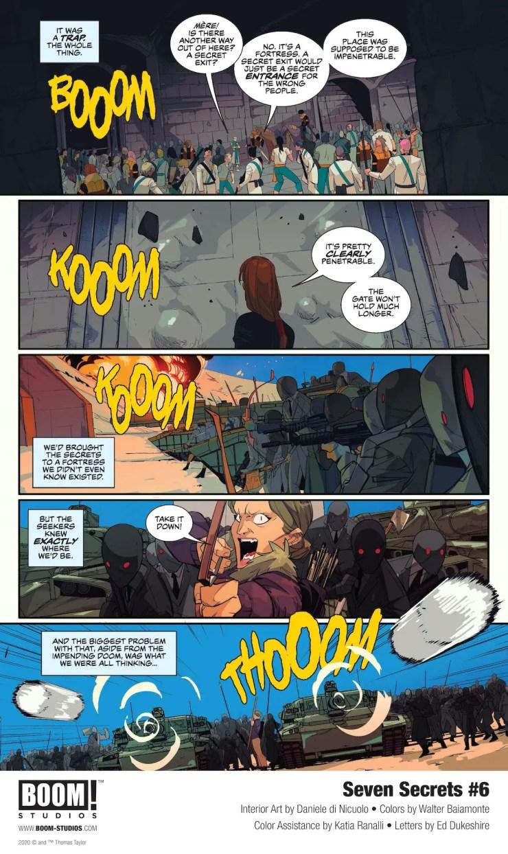 EXCLUSIVE BOOM! Preview: Seven Secrets #6