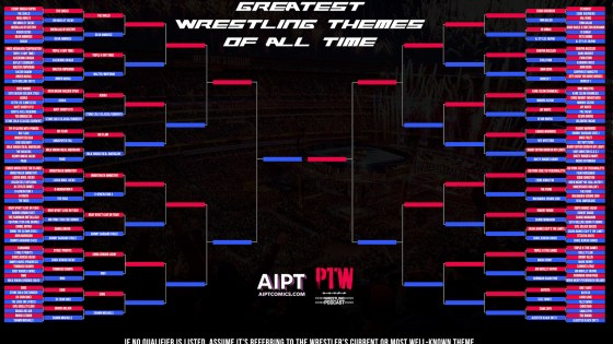 The Greatest Wrestling Themes of All Time: Round 2 B