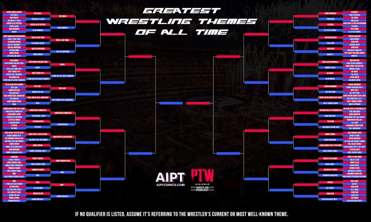 The Greatest Wrestling Themes of All Time: Round 2 A results