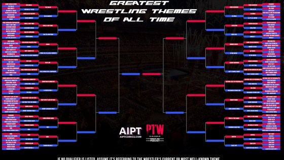 PTW Wrestling Podcast episode 135: The Greatest Wrestling Themes Ever: Part 2