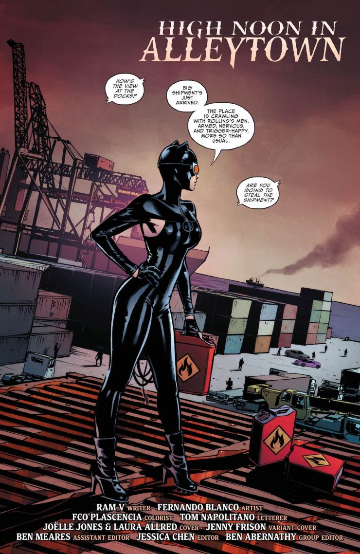 Catwoman #28 preview 2020