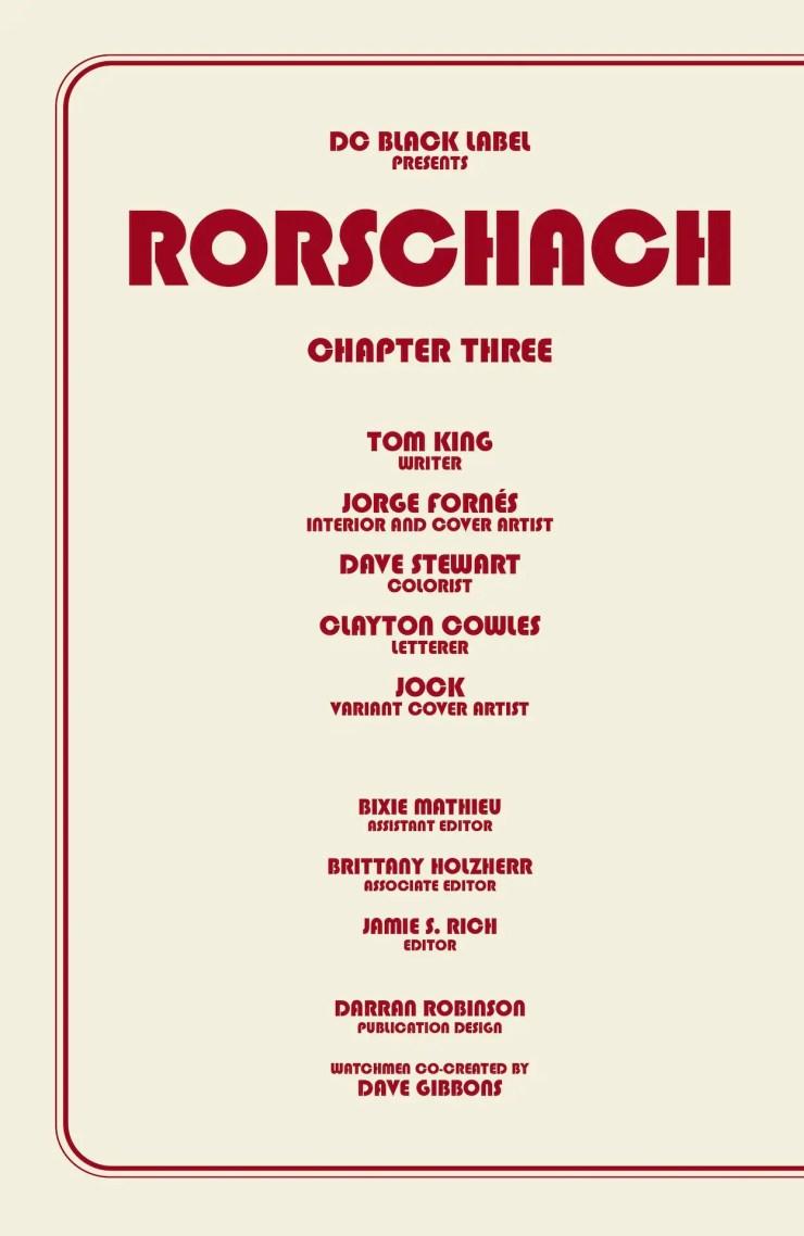 Rorschach #3 preview 2020