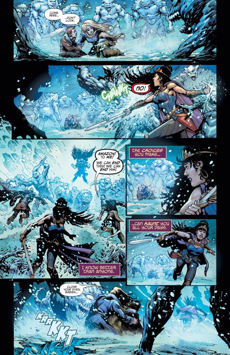 DC Preview: Teen Titans: Endless Winter Special #1