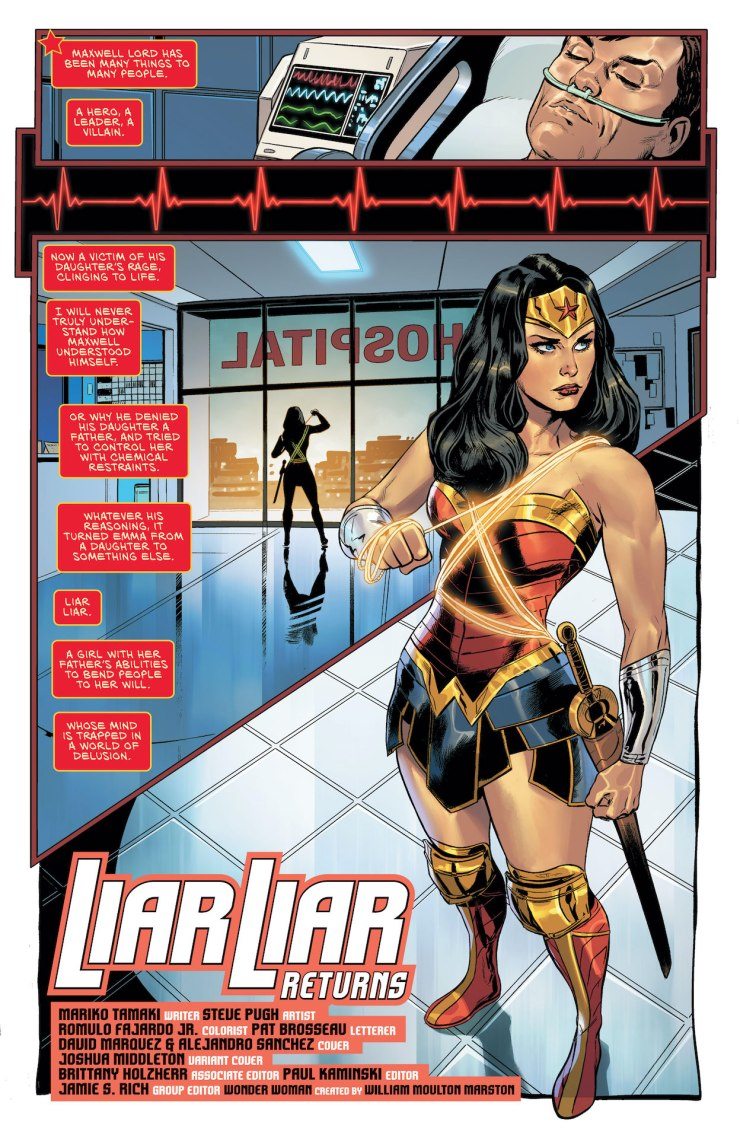 The trail of Maxwell Lord's would-be killer has brought Wonder Woman face to face with her newest, deadliest foe!