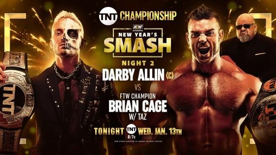 AEW Dynamite: Darby Allin vs. Brian Cage