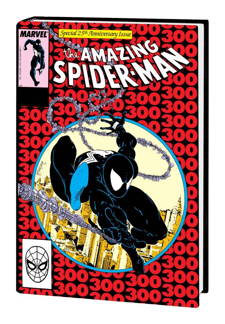 AMAZING SPIDER-MAN BY MICHELINIE & MCFARLANE OMNIBUS HC MCFARLANE BLACK COSTUME COVER
