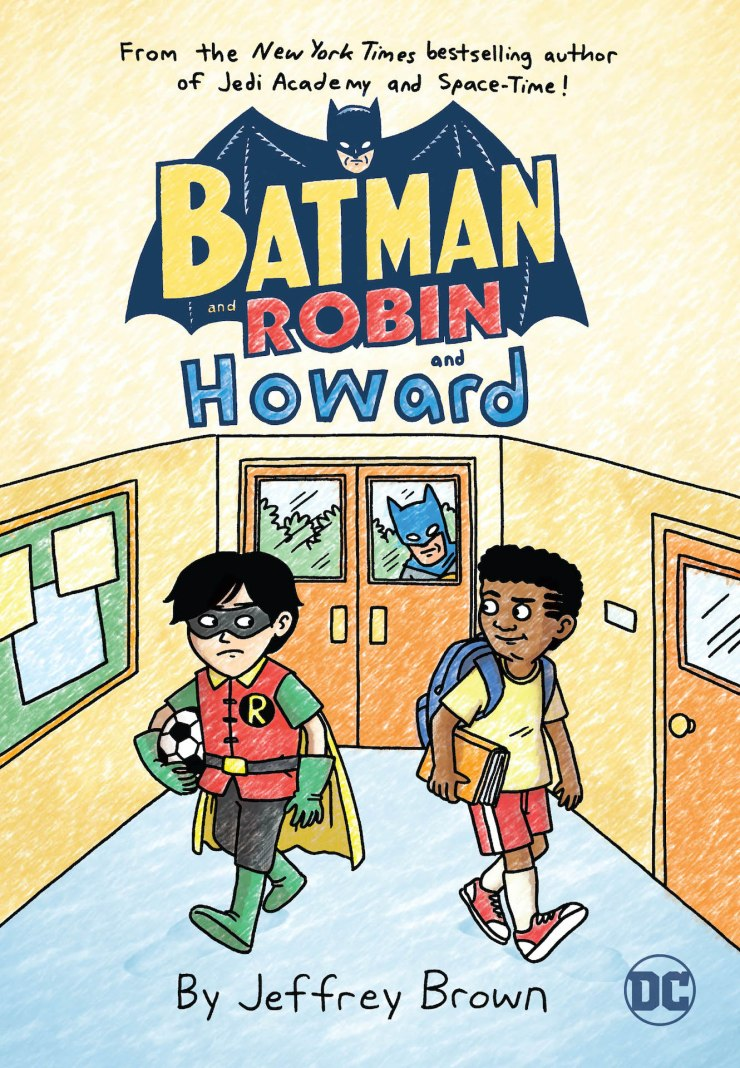 DC Comics announces 'Batman and Robin and Howard' middle-grade OGN