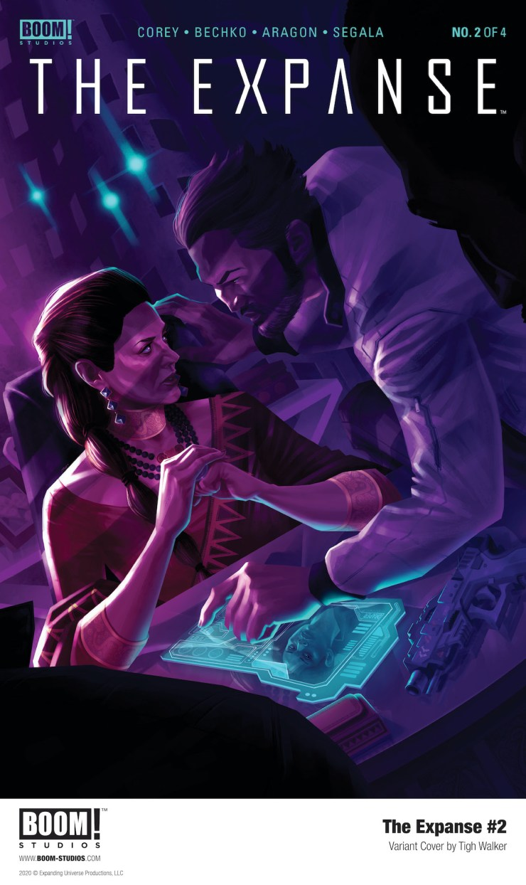 THE EXPANSE #2 From BOOM! Studios