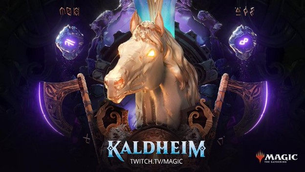 Magic: the Gathering Twitch Kaldheim promotional art