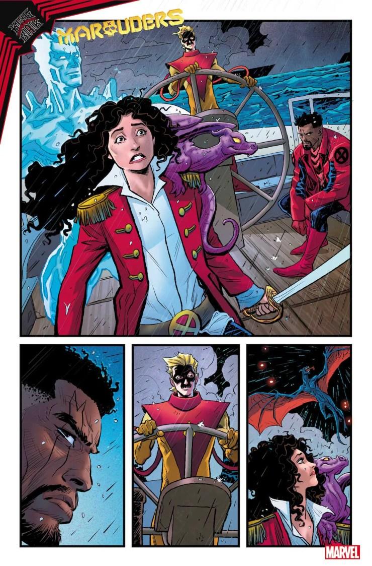 Marvel First Look: King in Black: Marauders #1