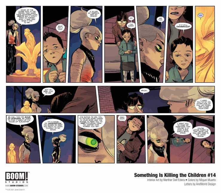BOOM! Preview: Something is Killing the Children #14