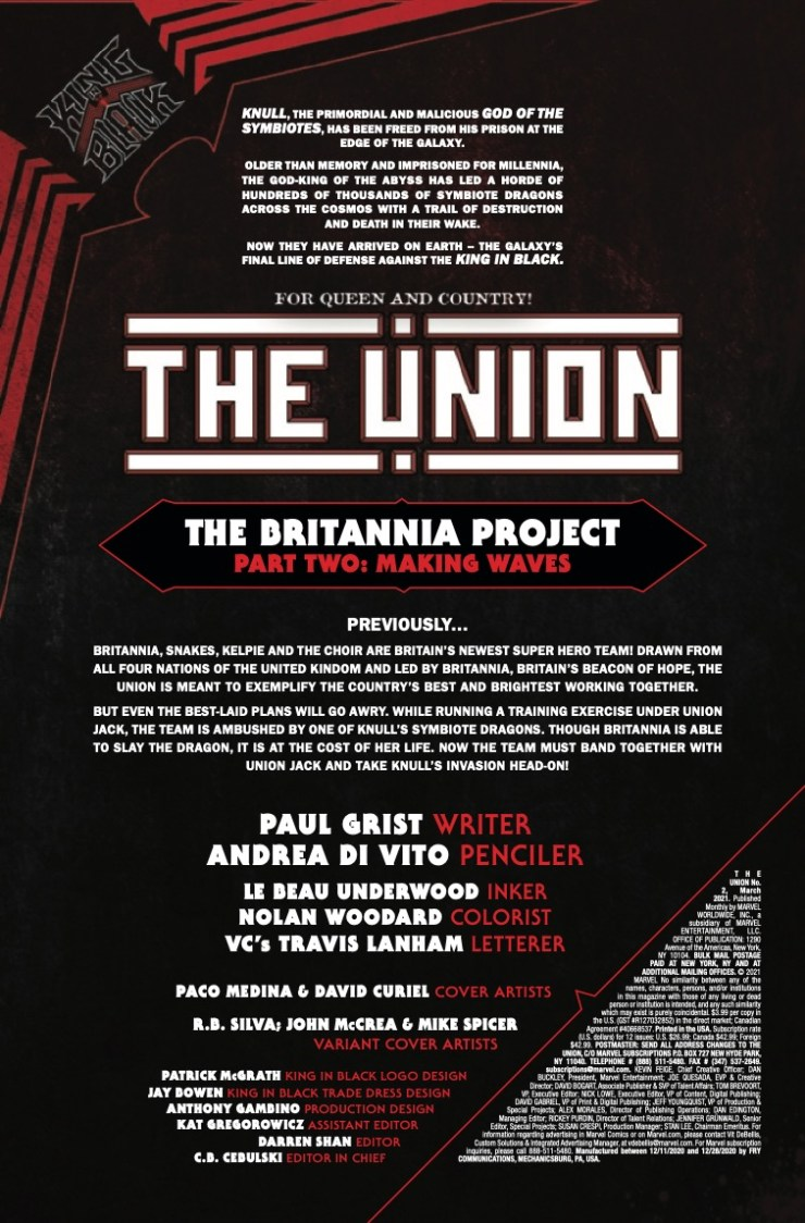 Marvel Preview: The Union #2