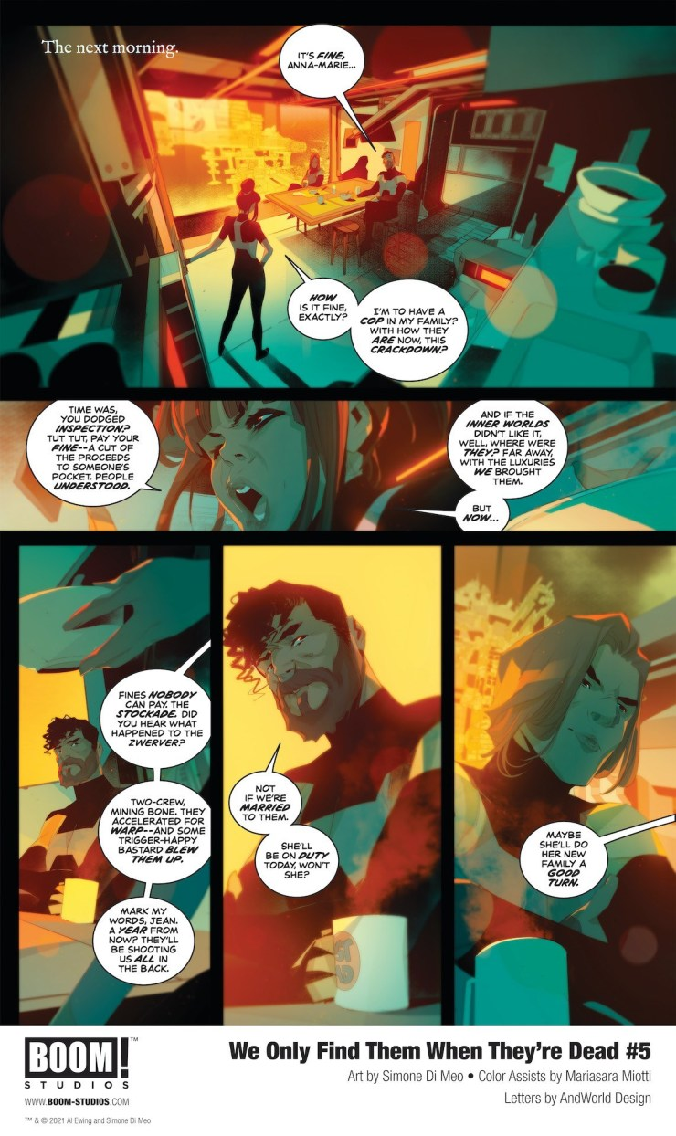 'We Only Find Them When They're Dead' #5 review