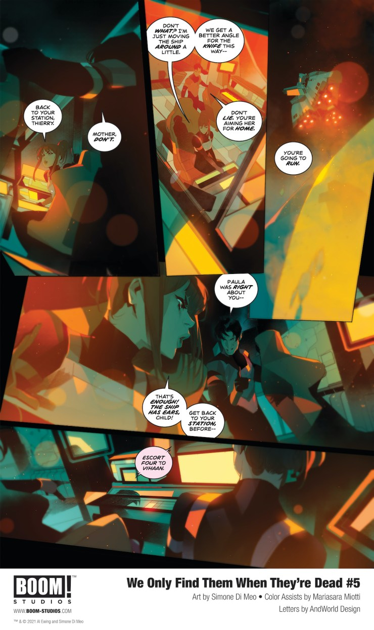 BOOM! Preview: We Only Find Them When They're Dead #5