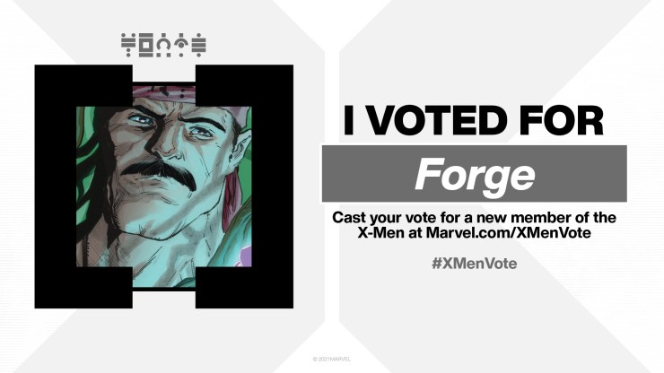 Who did you vote for in the X-Men Election? Grab your shareable character card here!