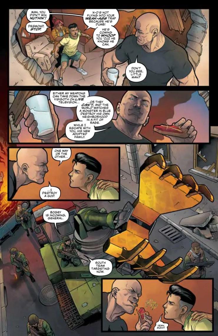 'X-O Manowar' #4 review
