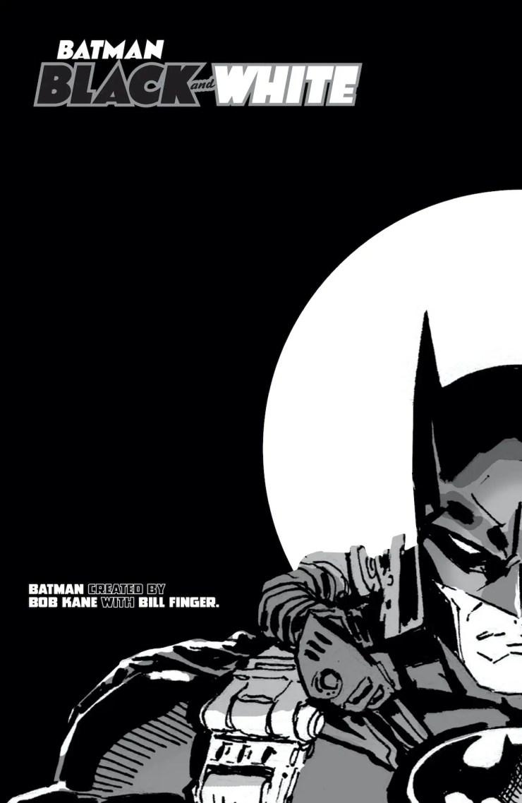 DC Preview: Batman Black & White #2