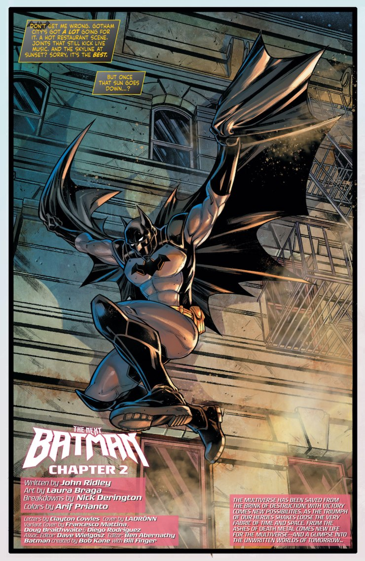 'Future State: The Next Batman' #2 review