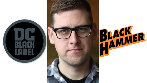 Jeff Lemire updates fans on two new DC Black Label titles and Black Hammer