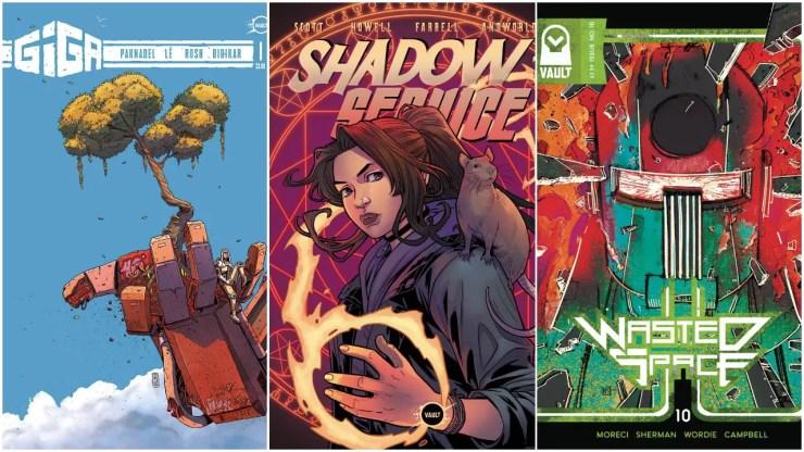 Vault Comics leaders talk publisher's big 2021 plans