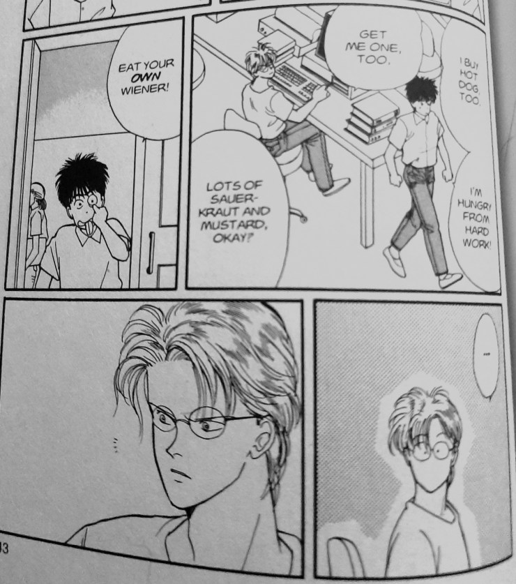 Two boys together clinging: Queer male intimacy and 'Banana Fish'
