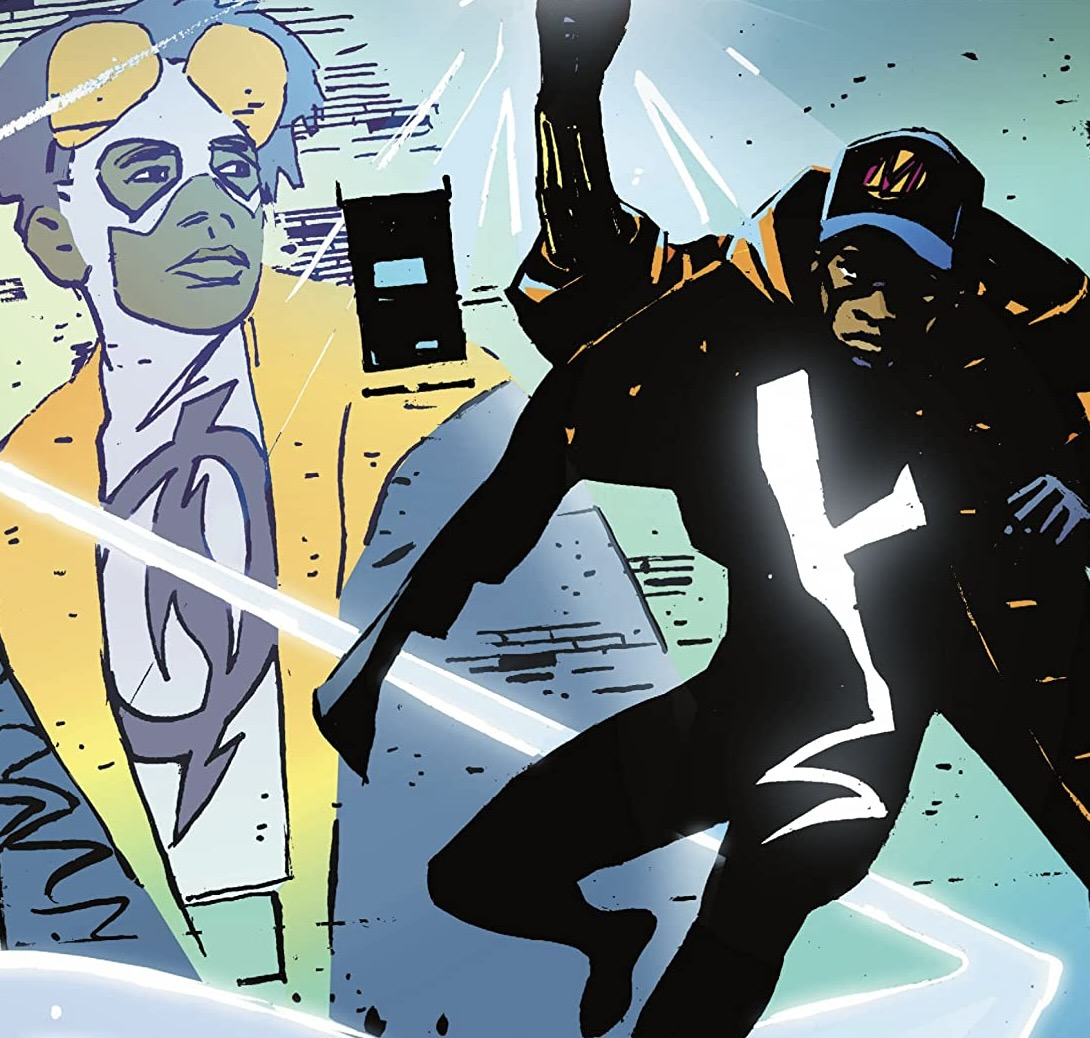 Static Shock!: Trial by Fire Cover, John Paul Leon