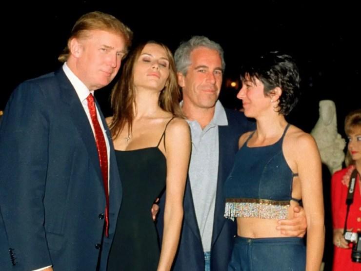 Trump, Epstein, Maxwell
