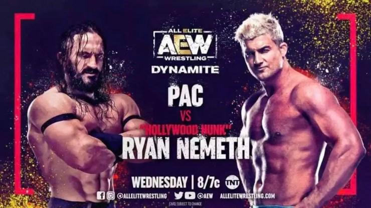 AEW Dynamite - PAC vs. Ryan Nemeth
