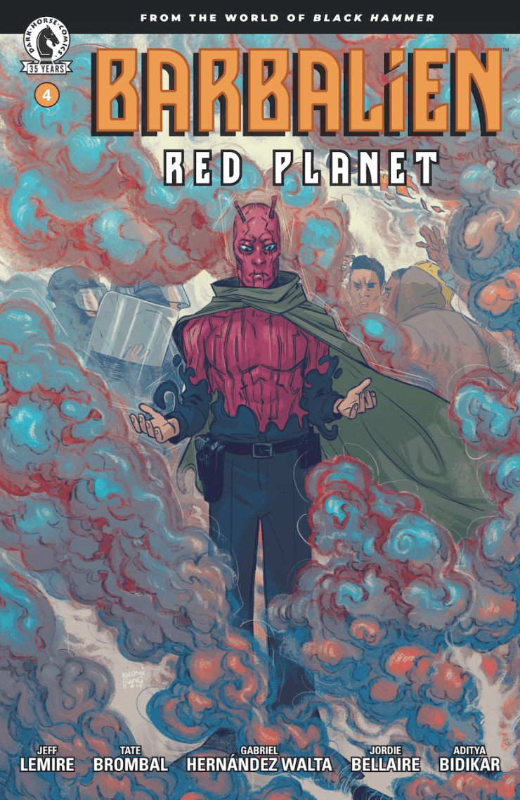 EXCLUSIVE Dark Horse Preview: Barbalien: Red Planet #4