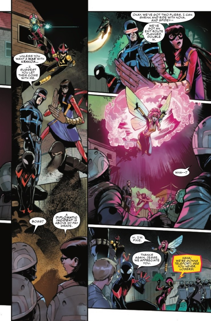 Marvel Preview: Champions #4