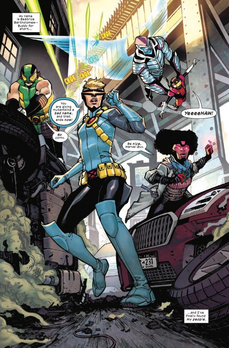Marvel First Look: Children of the Atom #1