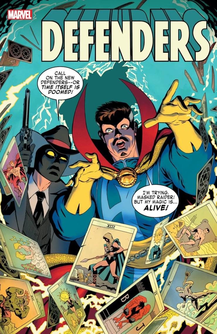Marvel's Doctor Strange calling for new 'Defenders' lineup