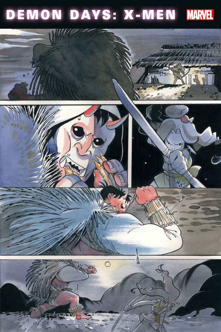 Marvel First Look: Demon Days: X-Men #1