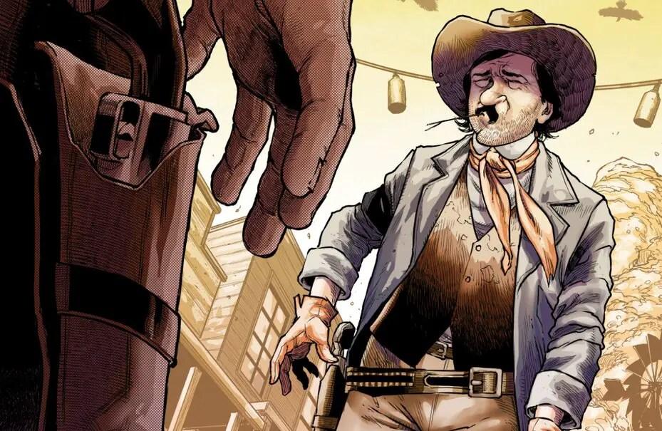 'Edgar Allan Poe's Snifter of Blood' #5 review