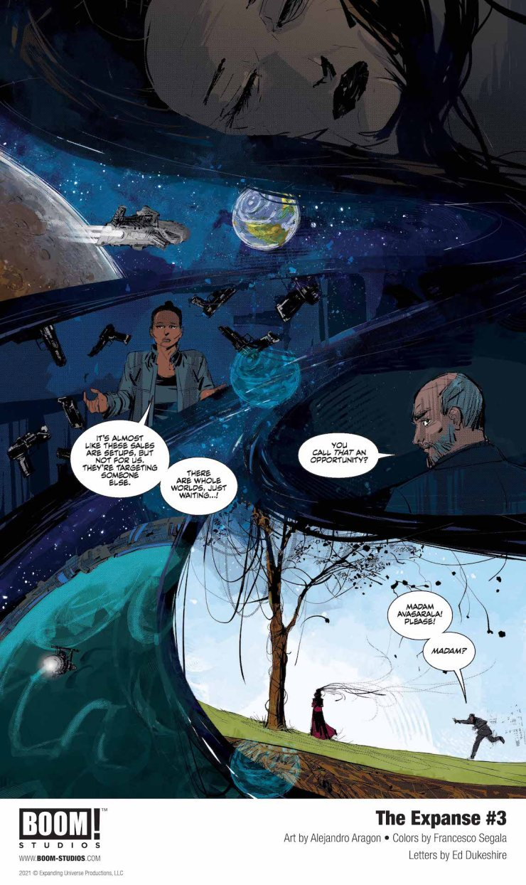 EXCLUSIVE BOOM! Preview: The Expanse #3