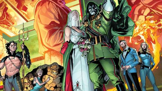 Marvel teases Fantastic Four 60th anniversary with Valerio Schiti art
