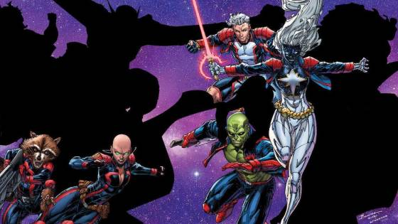 Marvel teases incomplete 'Guardians of the Galaxy' roster...so far