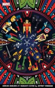 Marvel's 'Heroes Reborn' to get Jeffrey Veregge variant covers
