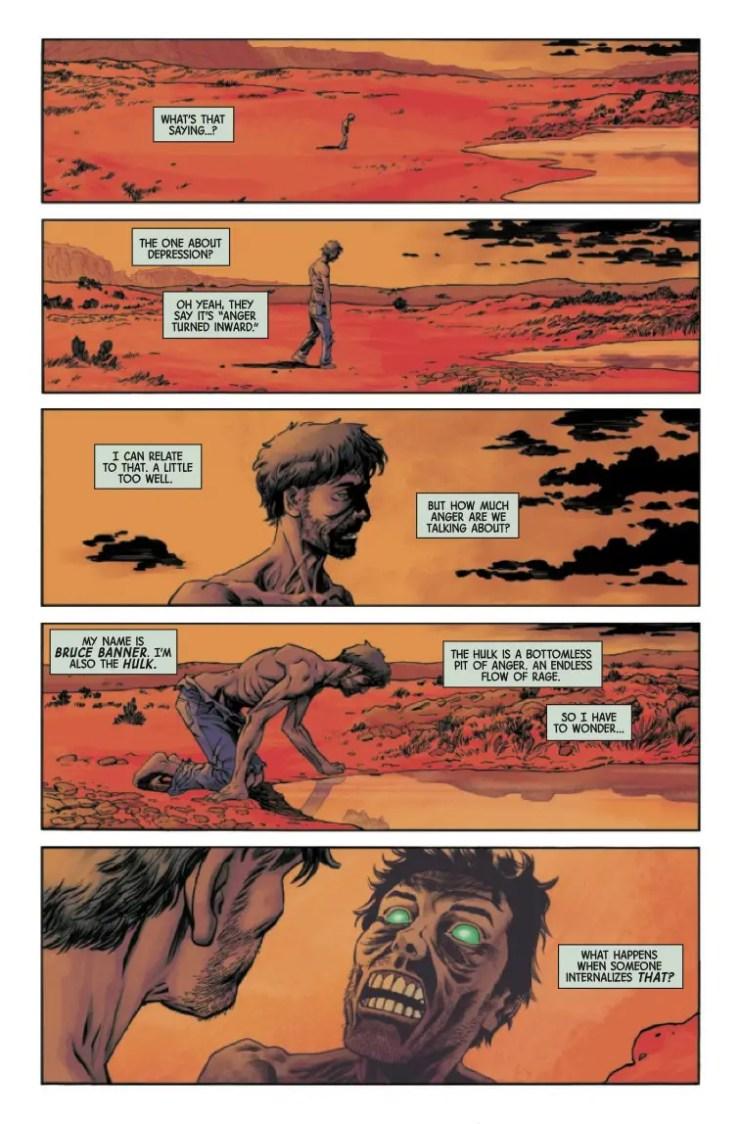 Immortal Hulk: Flatline #1