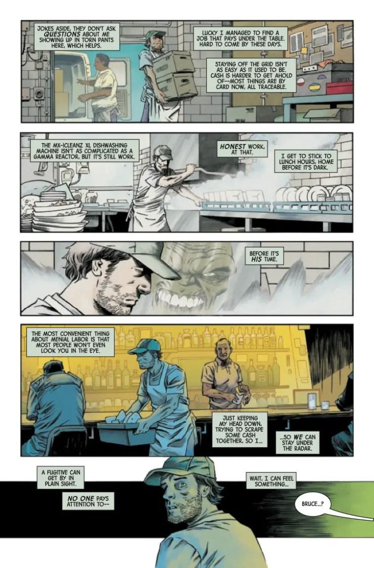 Marvel Preview: Immortal Hulk: Flatline #1