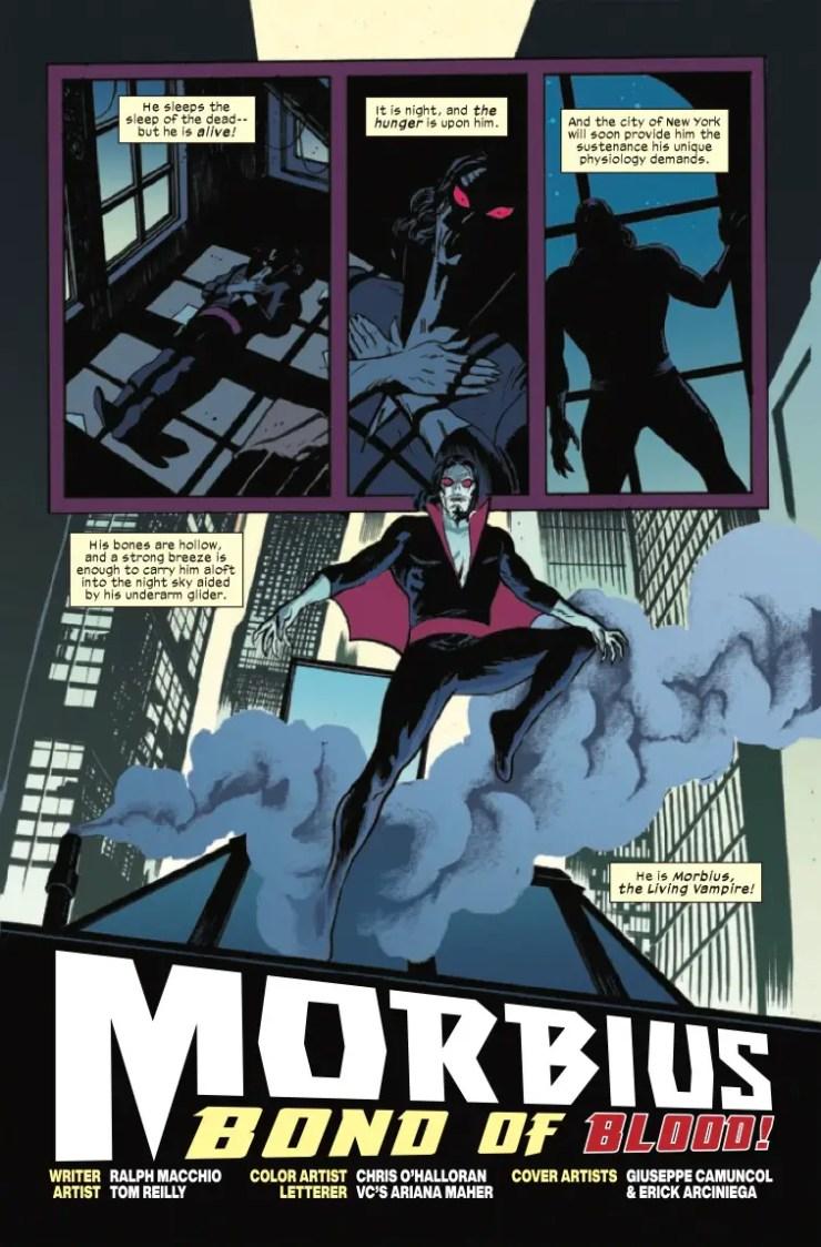 Morbius: Bond Of Blood (2021) #1