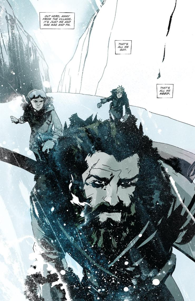 ComiXology Preview: Snow Angels #1