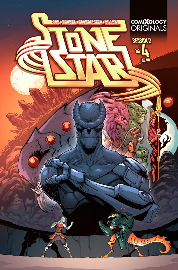 EXCLUSIVE ComiXology Preview: Stone Star Season Two #4