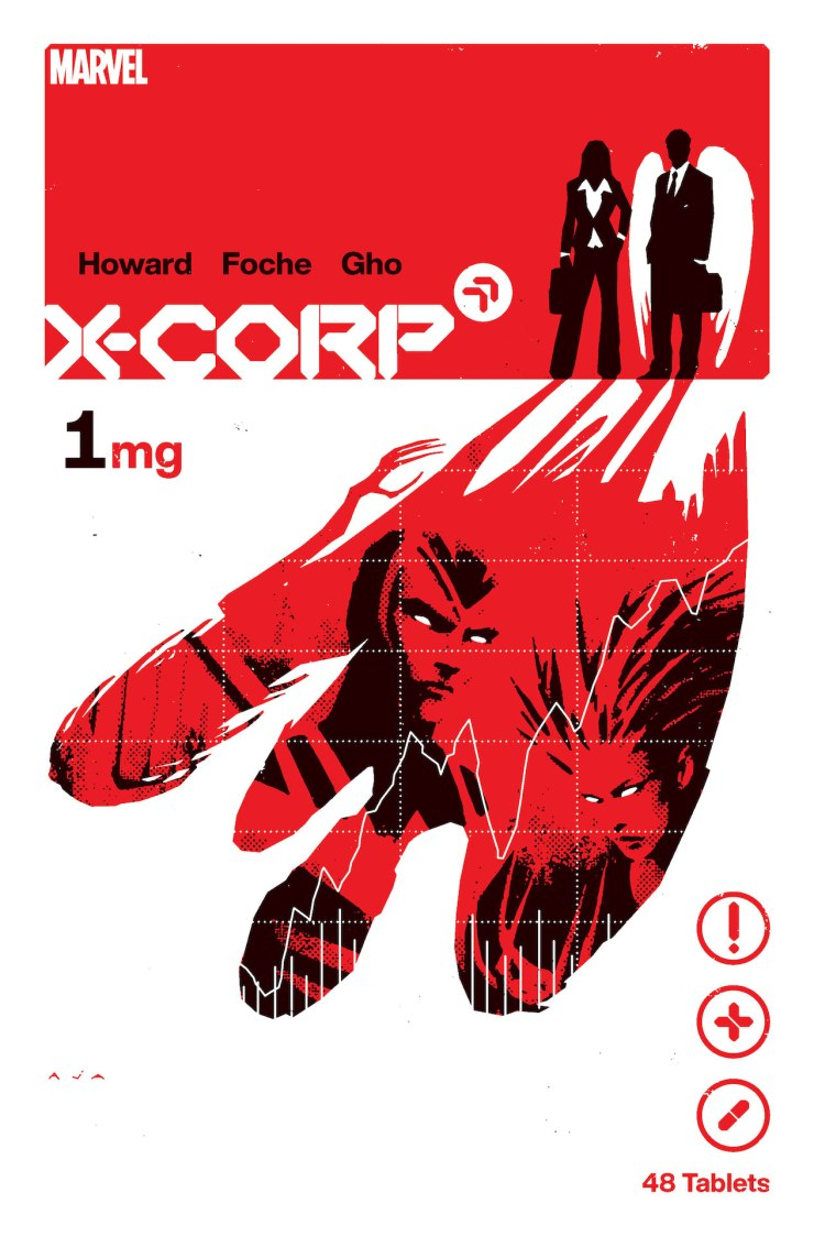 Marvel officially announces 'X-Corp' by Tini Howard and Alberto Foche