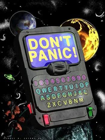 The Critical Angle: Did Douglas Adams predict the internet?