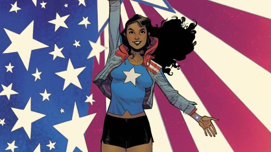 America Chavez: Made in the USA #1 cover, Sara Pichelli