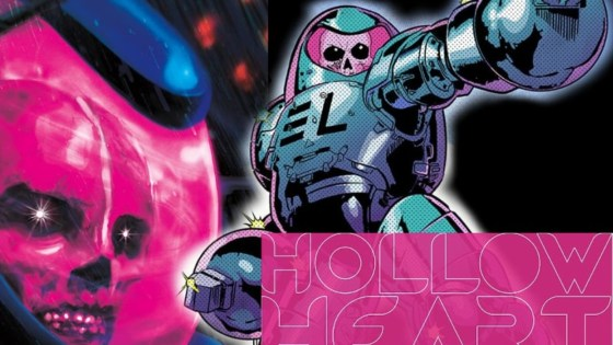 'Hollow Heart' #1 review: talking 'bout love, horror, and bio-suit sludge monsters