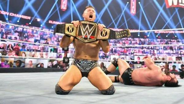 WWE Elimination Chamber 2021 - The Miz vs. Drew McIntyre