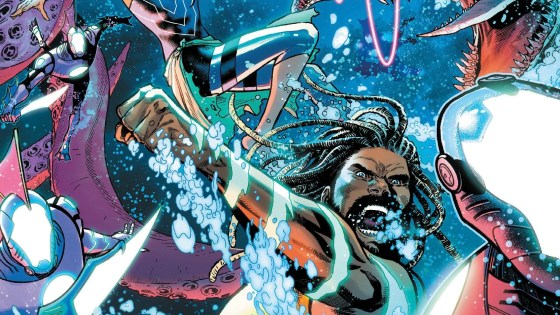 Future State: Aquaman #2 Cover, by Daniel Sampere and Adriano Lucas