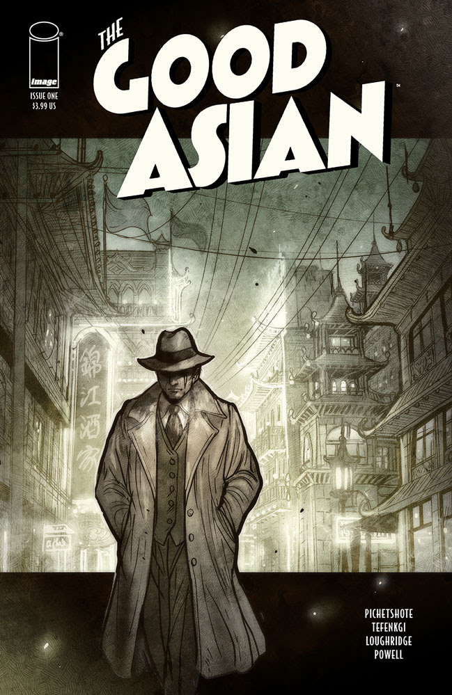 Image Comics announces 'The Good Asian' for May 2021